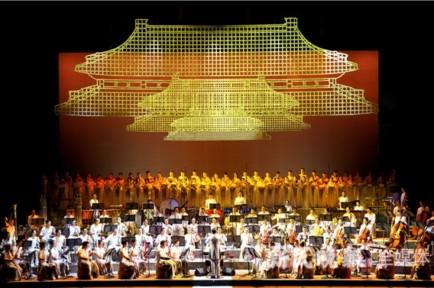 历史的朱红与文明的恢宏交相辉映,民族音乐史诗《紫禁城》全球首演