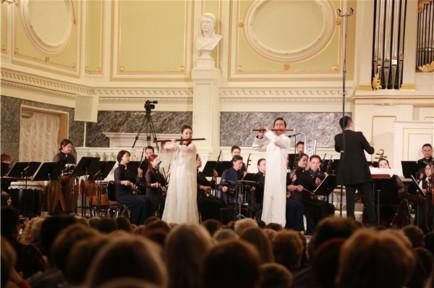 """上海民族乐团开启俄罗斯巡演,""""海上生民乐""""经验圣彼得堡"""